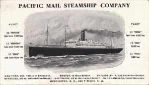 Pacific Mail Steamship Company.