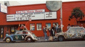 Red Vic repertory Movie House.